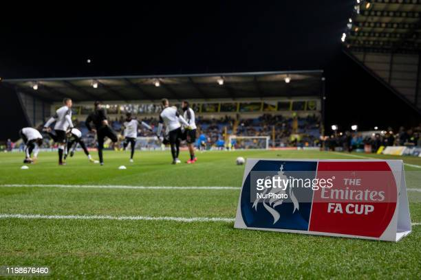 Newcastle United warming up before the FA Cup Fourth Round replay between Oxford United and Newcastle United at the Kassam Stadium Oxford on Tuesday...