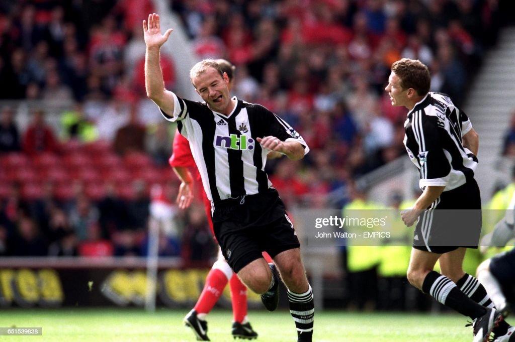 Soccer - FA Barclaycard Premiership - Middlesbrough v Newcastle United : News Photo