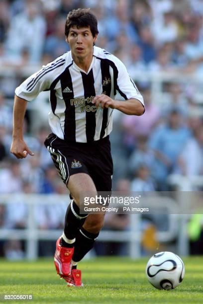 Newcastle United's Albert Luque
