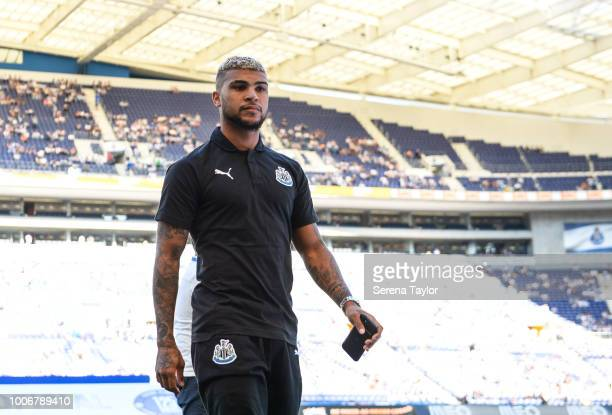 Newcastle United's DeAndre Yedlin walks off the pitch for the Pre Season Friendly match between FC Porto and Newcastle United at Estadio do Dragao on...