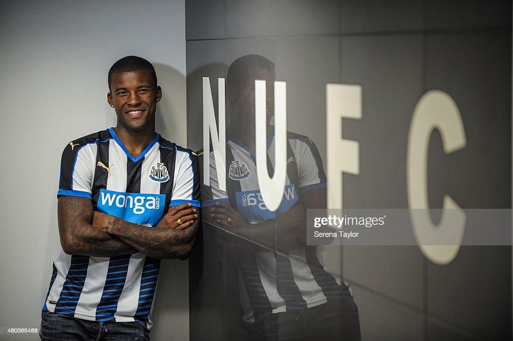 Newcastle United Unveil New Signing Georginio Wijnaldum : News Photo