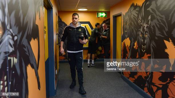 Newcastle United's Goalkeeper Karl Darlow arrives in the wolves tunnel prior to kick off of the Sky Bet Championship match between Wolverhampton...