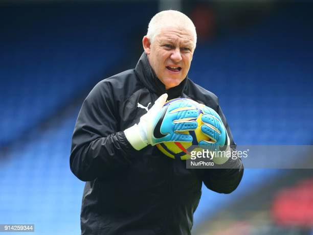 Newcastle United's Goalkeeping Coach Simon Smith during Premier League match between Crystal Palace and Newcastle United at Selhurst Park Stadium...