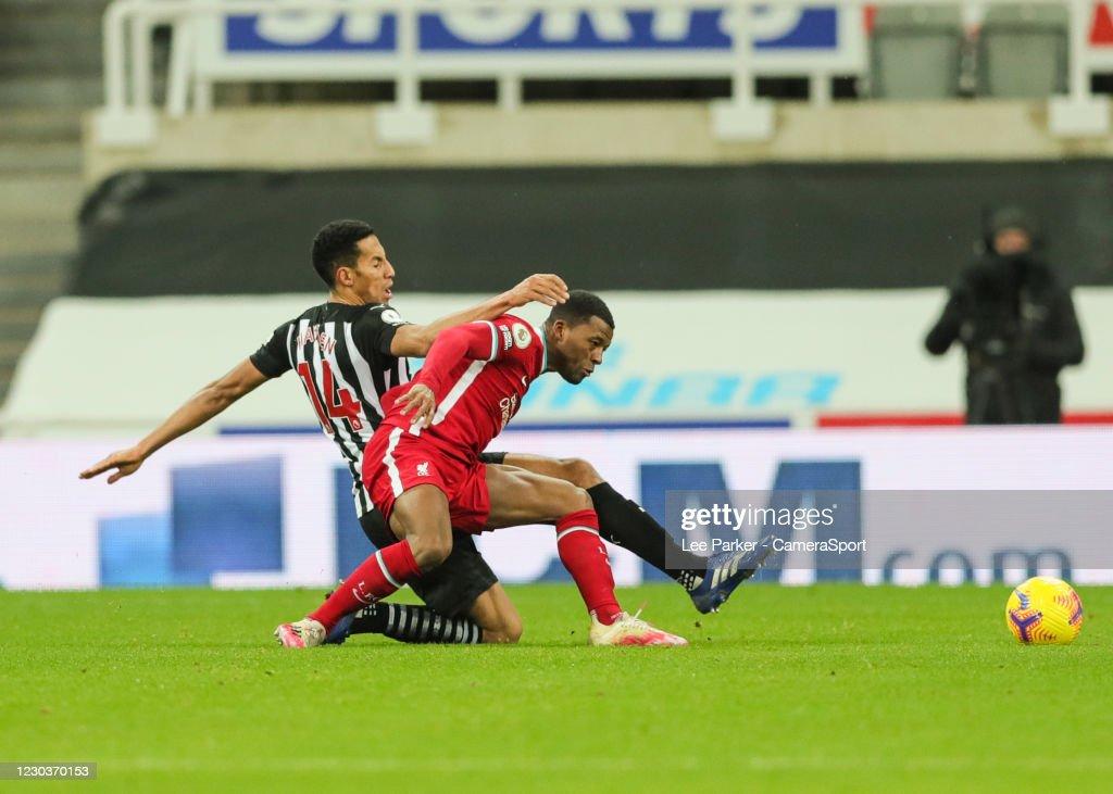 Newcastle United v Liverpool - Premier League : Nachrichtenfoto