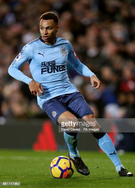 Newcastle United's Jacob Murphy during the Premier League match at The Hawthorns West Bromwich
