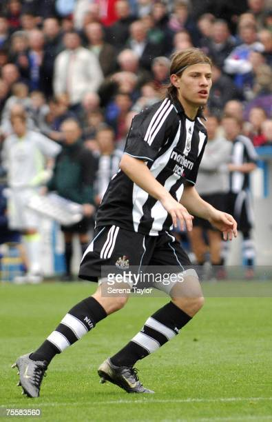 Newcastle United's James Troisi in action during a pre-season friendly between Carlisle United and Newcastle United at Brunton Park in Carlisle on...