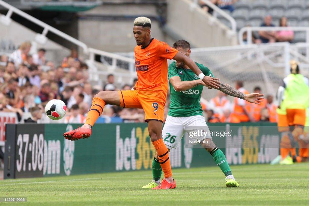 Newcastle v Saint-Etienne - Pre-Season Friendly : News Photo