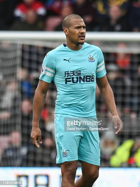 Newcastle United's Jose Salomon Rondon during the Premier League match between AFC Bournemouth and Newcastle United at Vitality Stadium on March 16...