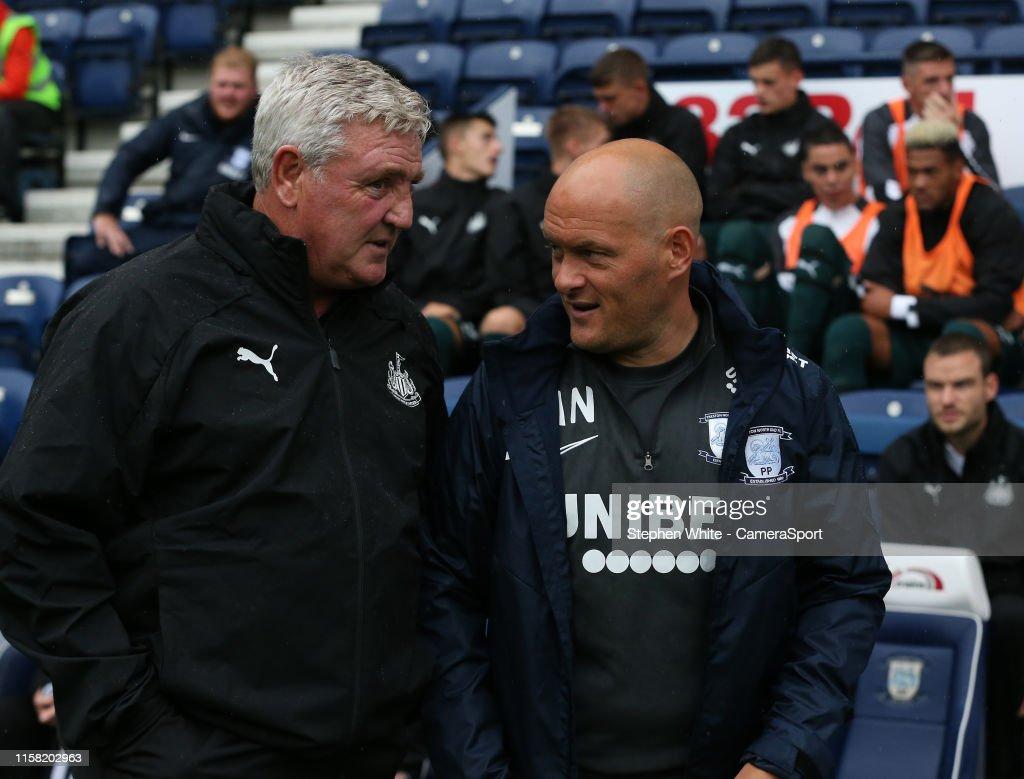 Preston North End v Newcastle United - Pre-Season Friendly : News Photo