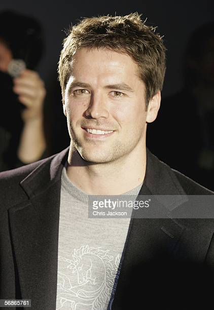 Newcastle United's Michael Owen models in the Philip Treacy for Umbro fashion show as part of London Fashion Week Autumn/Winter 2006/7 at the Royal...