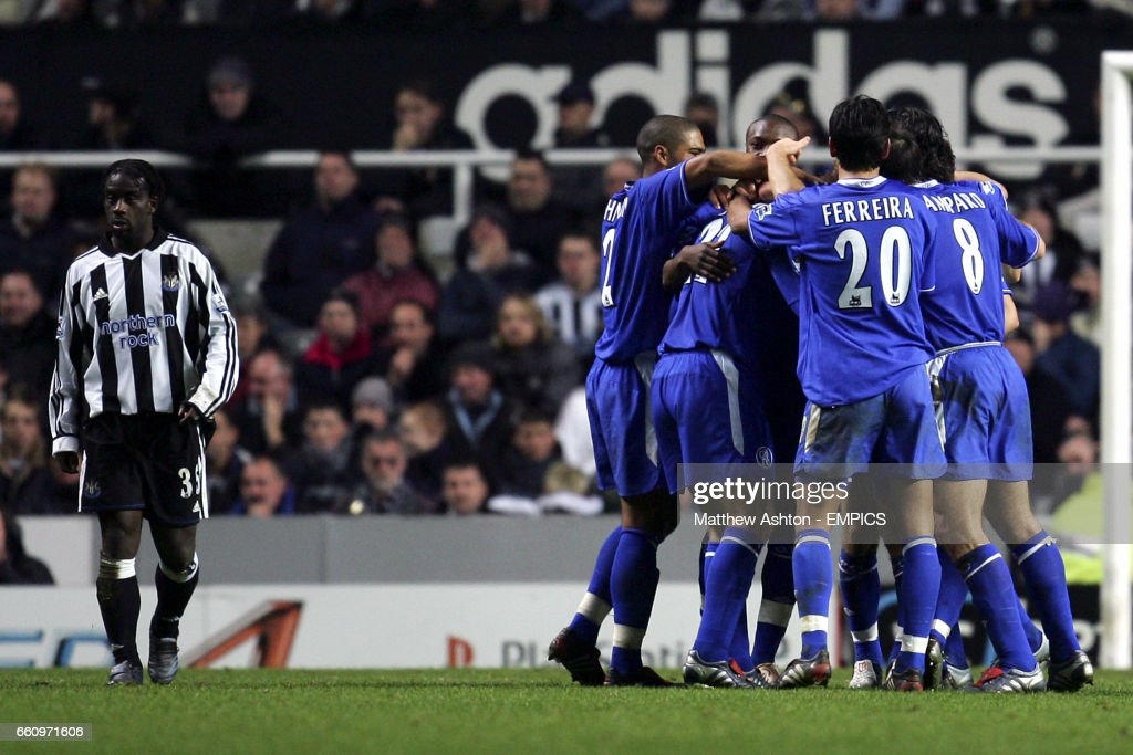 Soccer - Carling Cup - Fourth Round - Newcastle United v Chelsea : News Photo