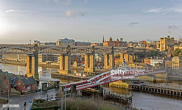 newcastle upon tyne - quayside stock photos and pictures