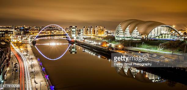 newcastle upon tyne quayside - newcastle upon tyne stock pictures, royalty-free photos & images