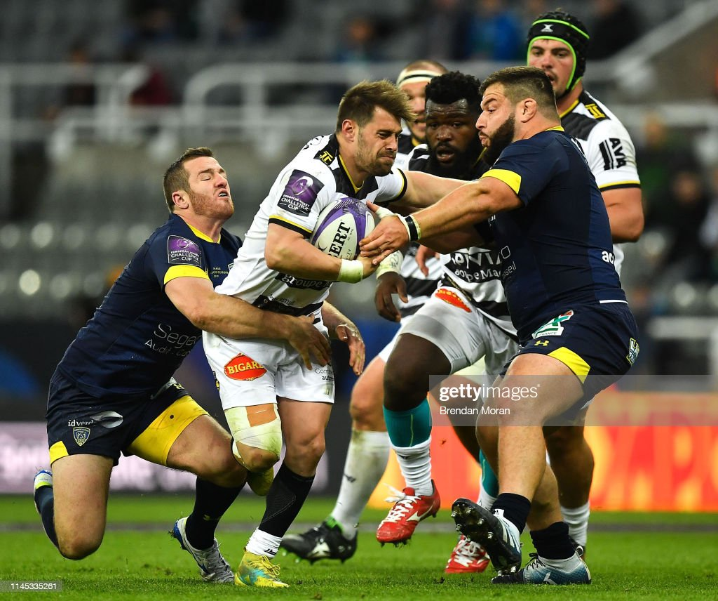 ASM Clermont Auvergne v La Rochelle - Heineken Challenge Cup Final : News Photo