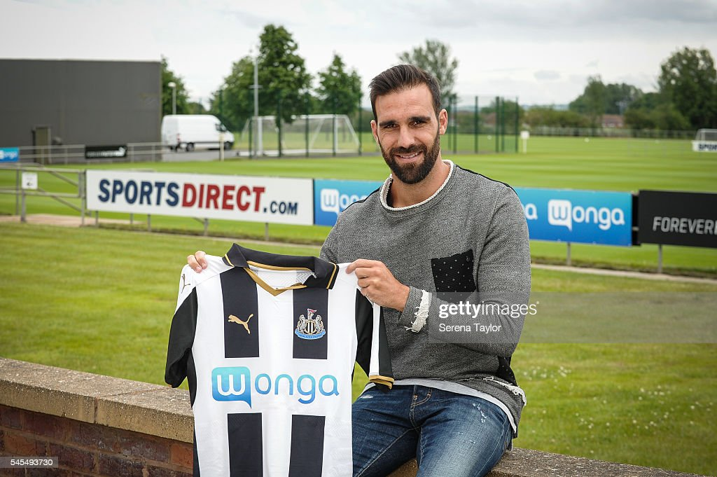 Newcastle United Unveil New Signing Jesus Gamez : News Photo