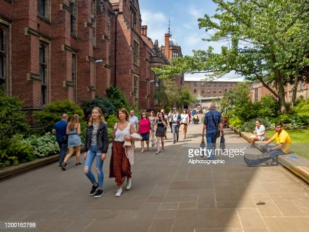 2019 newcastle-upon-tyne university open day - day stock pictures, royalty-free photos & images