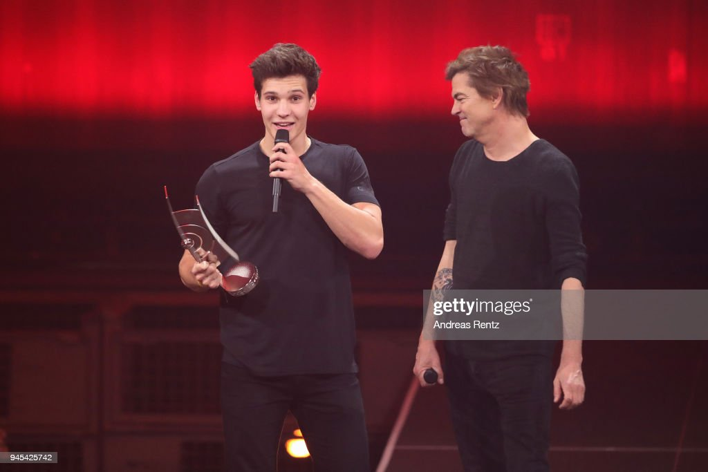 Newcomer National Award Winner Wincent Weiss And Campino Are Seen