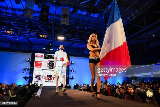 Newfel Ouatah during the event No Limit Levallois at Salle Marcel Cerdan on December 14 2017 in Paris France