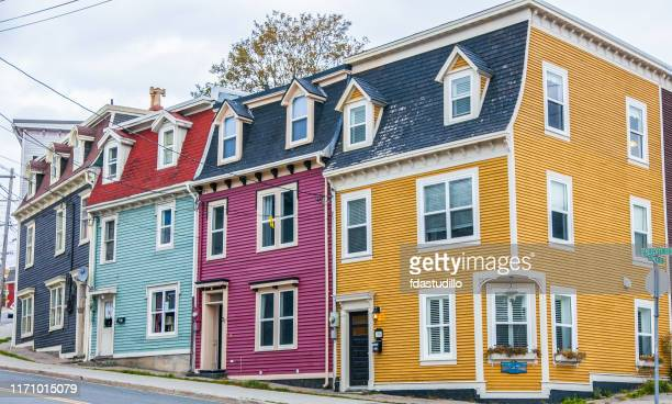 newfoundland - st. john's - newfoundland and labrador stock pictures, royalty-free photos & images