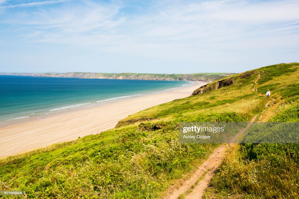 Newgale Sands in Pembrokeshire, Wales, UK. : Stock Photo