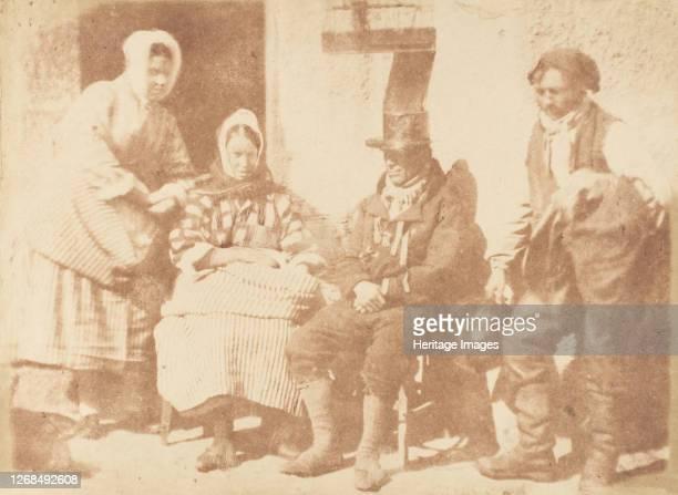 Newhaven Family, 1843-47. Artist David Octavius Hill, Robert Adamson, Hill & Adamson.