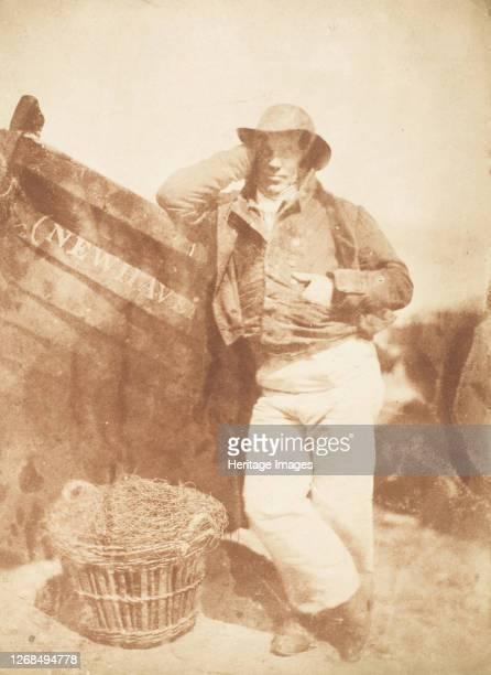 Newhaven Fisherman, 1843-47. Artist David Octavius Hill, Robert Adamson, Hill & Adamson.