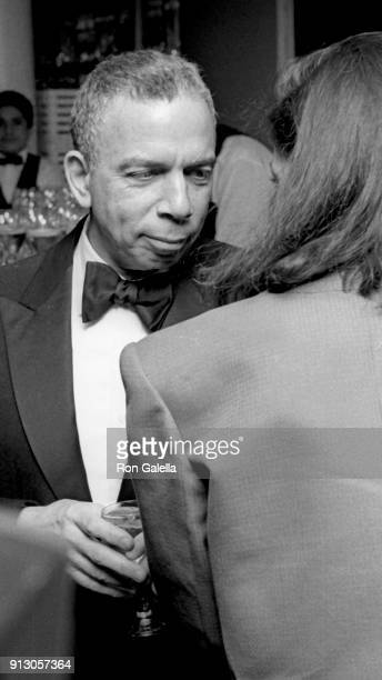 I Newhouse attends Fourth Annual PEN Montblanc Literary Benefit Gala on April 4 1990 at Roseland in New York City