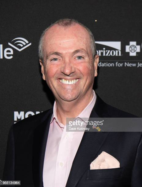 NewJersey Governor Phil Murphy attends the Montclair Film Festival on May 5 2018 in Montclair NJ
