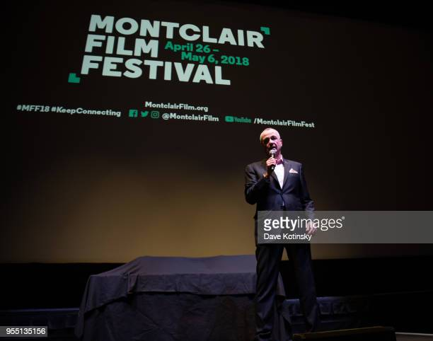 NewJersey Governor Phil Murphy speak at the Montclair Film Festival on May 5 2018 in Montclair NJ