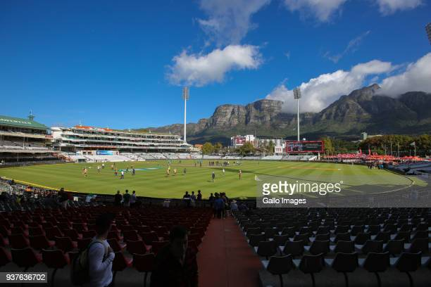Newlands Cricket Ground during day 4 of the 3rd Sunfoil Test match between South Africa and Australia at PPC Newlands on March 25 2018 in Cape Town...