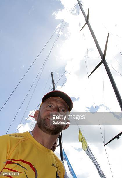 Newly announced ambassador Ian Walker poses during the Laureus Abu Dhabi Ocean Racing on November 15 2014 in Cape Town South Africa