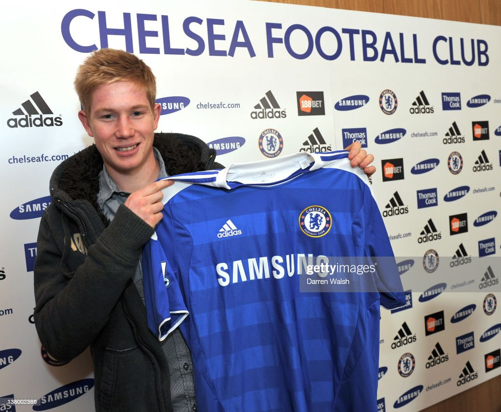 Kevin De Bruyne Signs For Chelsea FC