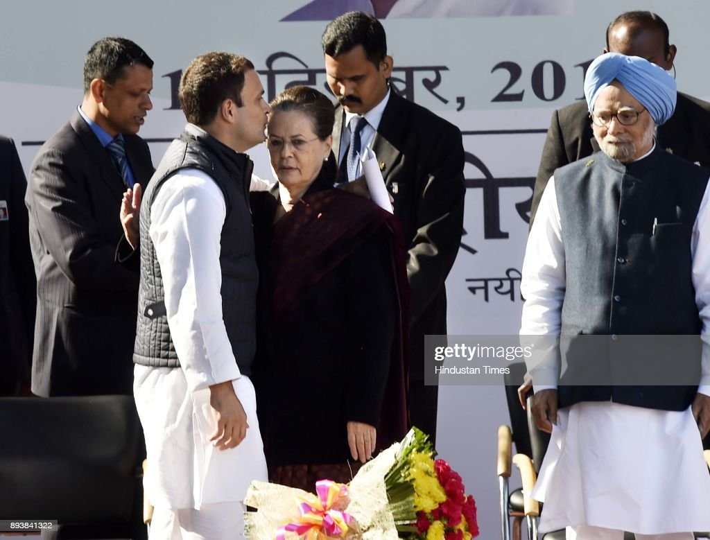 Rahul Gandhi Takes Over As Congress President
