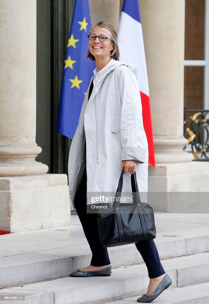 Emmanuel Macron's First Weekly Meeting At Elysee Palace