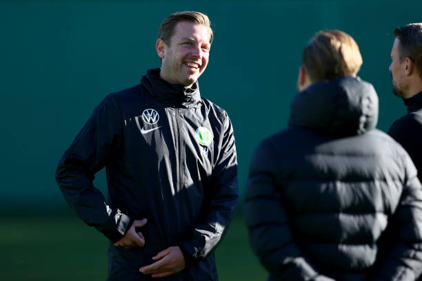DEU: VfL Wolfsburg - Training Session With New Trainer Florian Kohfeldt