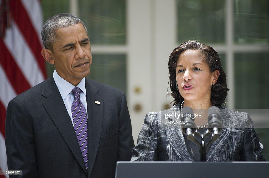 US-POLITICS-OBAMA-NATIONAL SECURITY-UN : News Photo