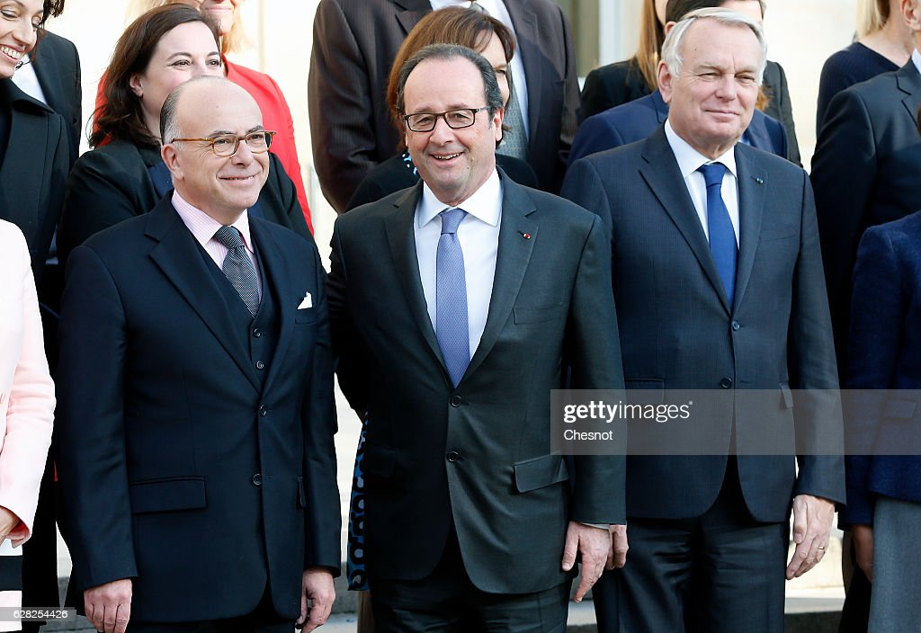 Conseil Des Ministres At Elysee Palace In Paris