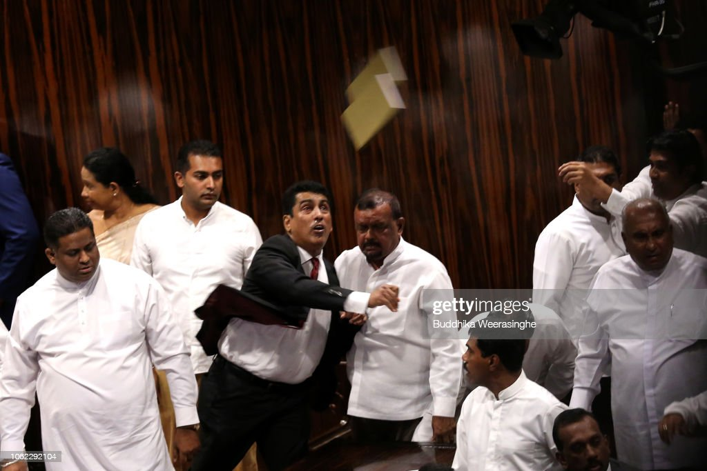 Sri Lankan Political Crisis Continues : News Photo