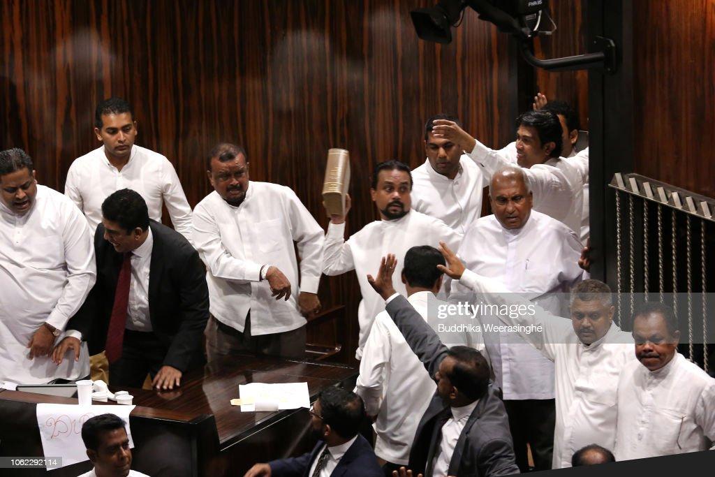 Sri Lankan Political Crisis Continues : Photo d'actualité