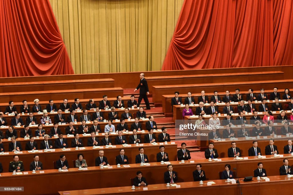 China's National People's Congress (NPC) - Sixth Plenary Meeting : News Photo