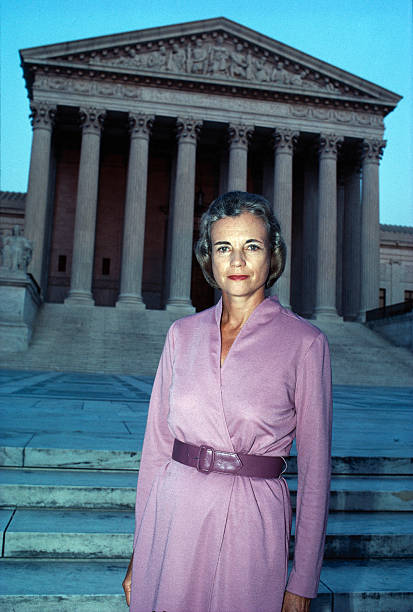 DC: 21st September 1981 - Sandra Day O'Connor Unanimously Approved To Become 1st Woman Supreme Court Justice