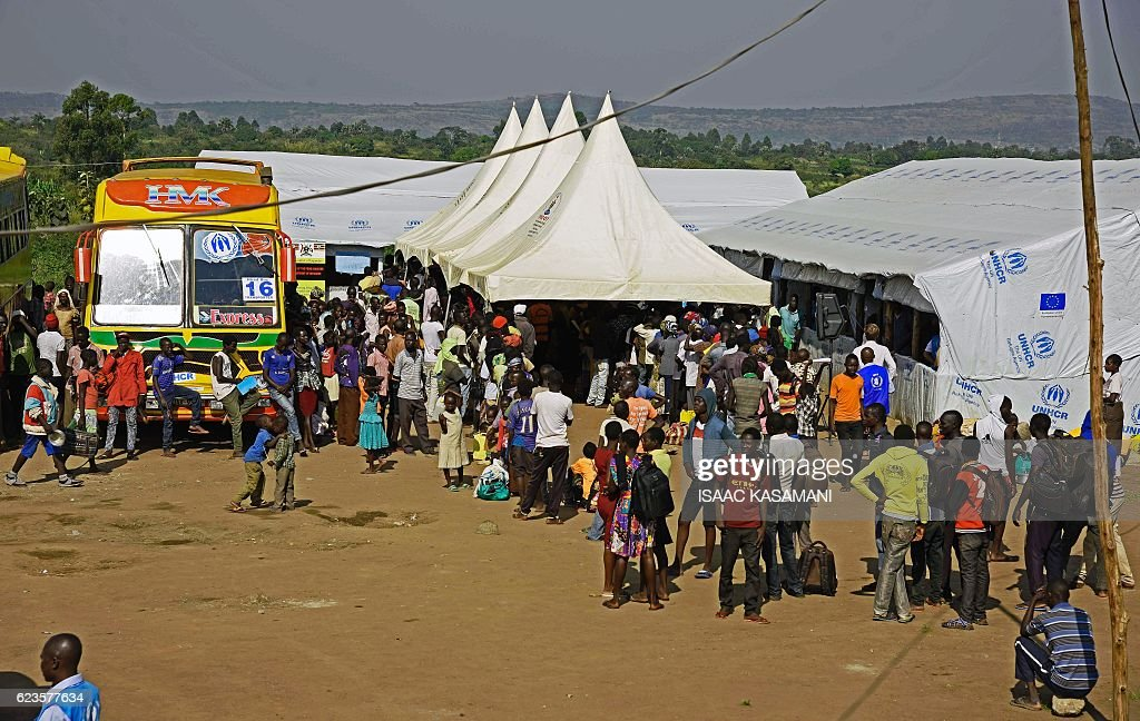 UGANDA-SSUDAN-REFUGEES-CONFLICT : News Photo