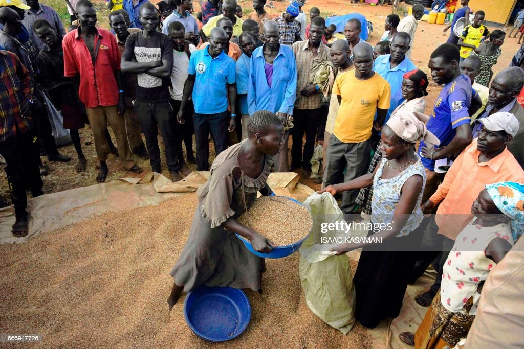 UGANDA-SSUDAN-UNREST-REFUGEES : News Photo