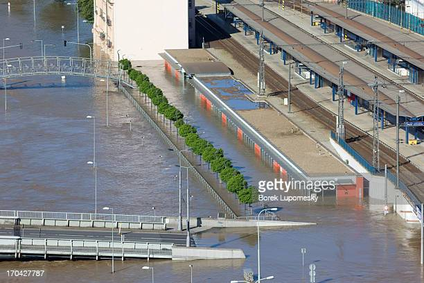 CONTENT] Newly built part of main railway station in Usti nad Labem Czech Republic was to house shops but at the time of June 2013 floods these were...