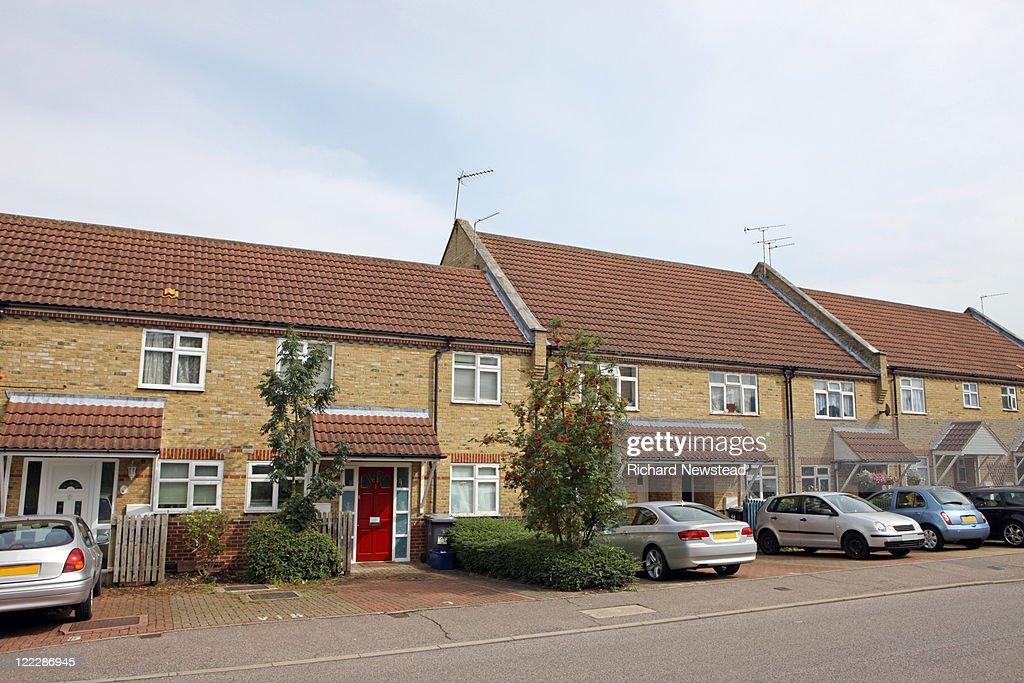 Newly built UK homes : Foto de stock