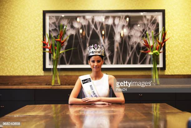 Newly crowned Miss SA 2018 Tamaryn Green during an interview on May 31 2018 in Johannesburg South Africa Green a 23yearold UCT medical student who...