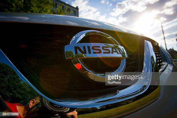 A newly delivered Nissan car is seen The Japanese brand now owns 40 percent of rival Mitsubishis stock and has announced that it will replace the...