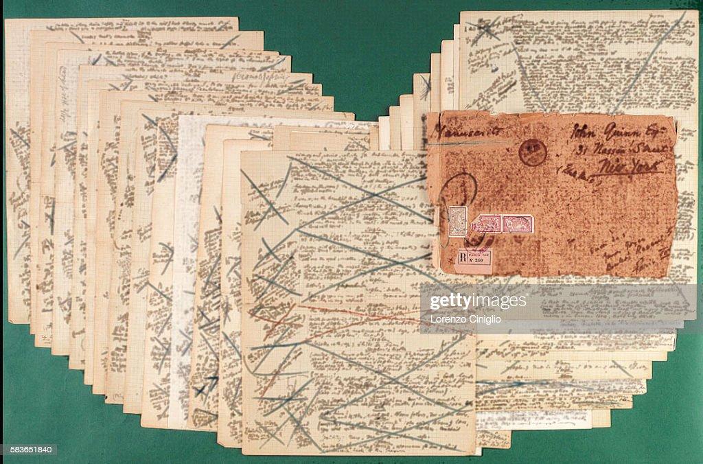 Christie's Auctions Part of Ulysse's Manuscript : ニュース写真