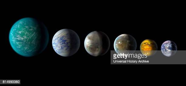 A newly discovered exoplanet Kepler452b comes the closest of any found so far to matching our Earthsun system This artist's conception of a planetary...