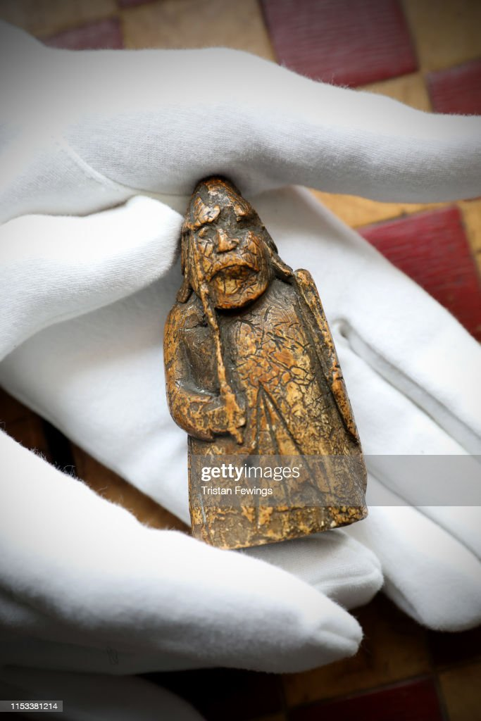 Sotheby's - The Lewis Chessman : News Photo